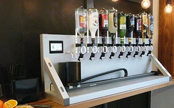 Automated cocktail machine