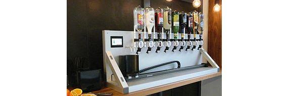 Automatisierte Cocktailmaschine