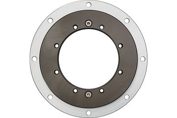 iglidur® slewing ring, PRT-04 with locking mechanism, outer ring made of aluminium, sliding elements made of iglidur® J