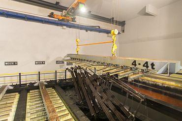Indoor cranes with igus