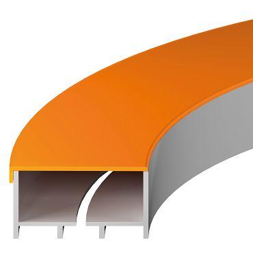 Dreh-Energieführung mit Dach