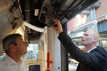 chainflex cables in railway technology