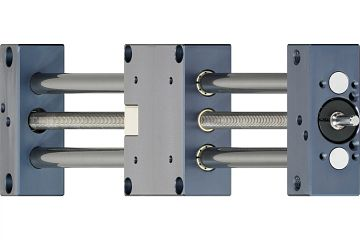 drylin® SHT-12 linear module with trapezoidal thread