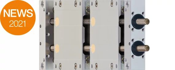 SLWT-16120 linear module with double carriage from igus