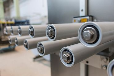 Stainless steel rollers in F&P