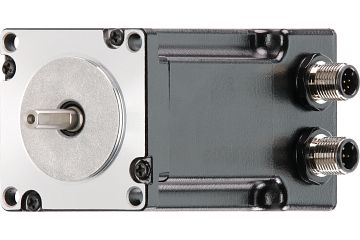 drylin® E stepper motor with splash guard, NEMA 23