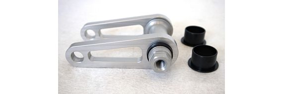 The newly developed link system with iglidur plain bearings is a simple and lightweight design.