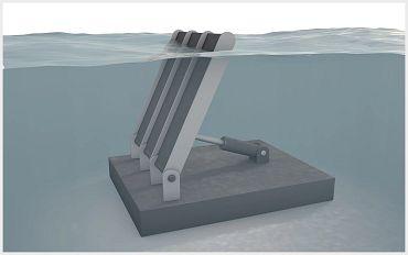 Oscillating water column hydro energy