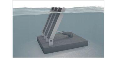 Schwingende Wassersäule Hydroenergie