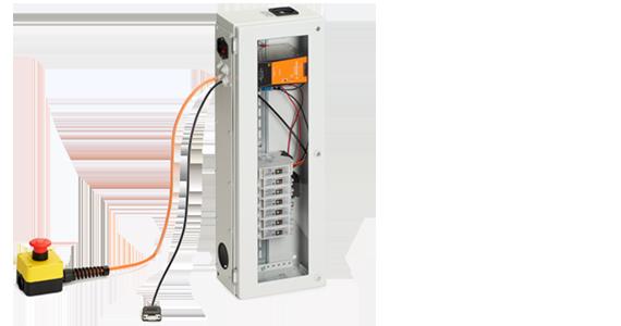 Armario eléctrico del sistema de control del robot