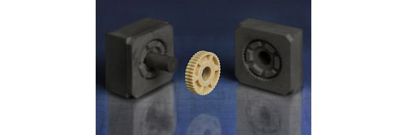 Injection moulding tool for small series made with 3D printing moulds