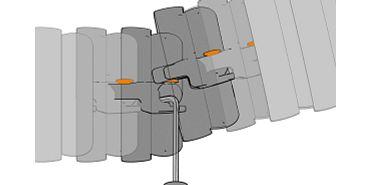 triflex R B Version oranger Kopf geöffnet