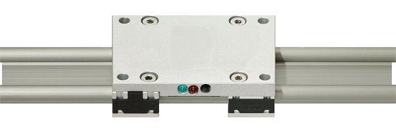 drylin® W-isense-Linearschlitten mit LED-Anzeige
