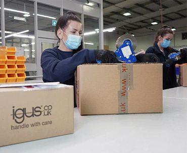 igus UK packing