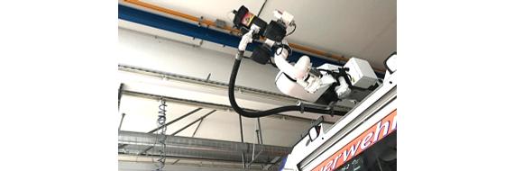 3D-gedruckte Zahnräder für Wasserwerfer der Feuerwehr