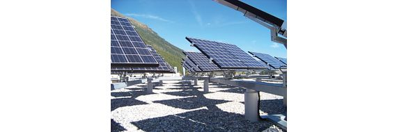 Vertical tracking systems ensure maximum utilisation of solar energy throughout the day.