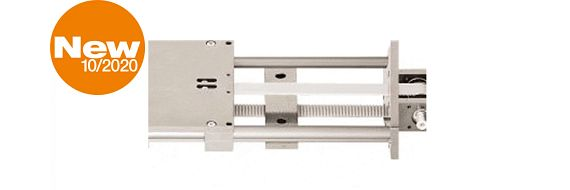 WS 10-40 without holes - clear-anodised rail