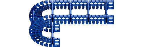 Schleppkette Energiekette Kabelführung lebensmittelkonform FDA