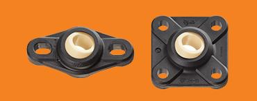 Bolt flange bearings