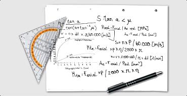 Calculation formulas