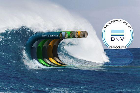 chainflex Leitungen DNV Zulassung