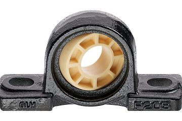 Pillow block bearing with cast iron housing UC, igubal® JEM-SP