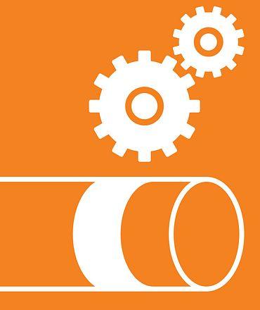 Logo hose line finder