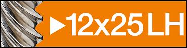 12x25 LH