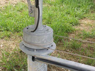 Traktionsring mit Seil zur Verstellung: