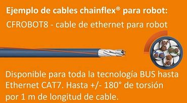 cable ethernet robótico