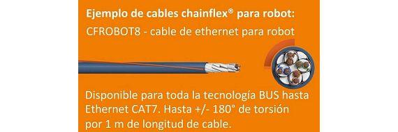 cable ethernet robótico