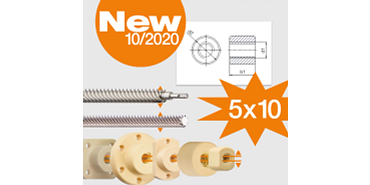 New dryspin thread sizes