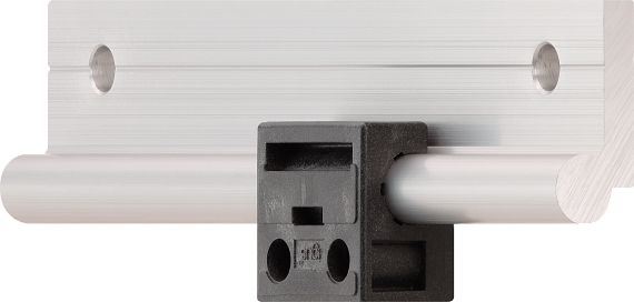The first drylin®W iglidur polymer linear bearing