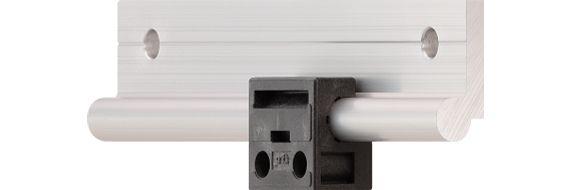 Das erste drylin® W-Linearlager aus Vollkunststoff