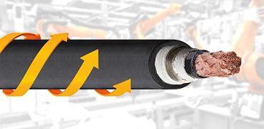 cable para torsión robótico igus®