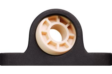 Pillow block bearing with plastic housing, igubal® JEM-SP