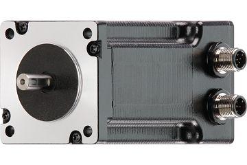 drylin® E stepper motor with splash guard, NEMA 24