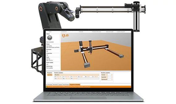 robolink control software for articulate robots