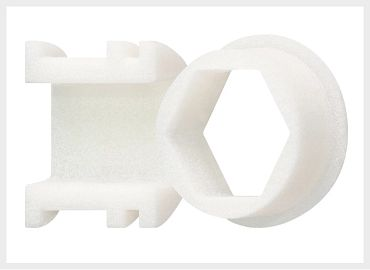 Laser sintering printed parts made of iglidur I10