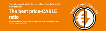 banner catálogo cable confeccionado