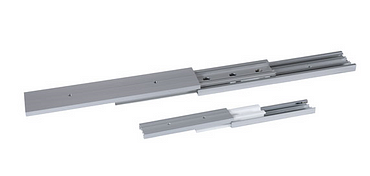 drylin NT telescopic rail with or without locking mechanism