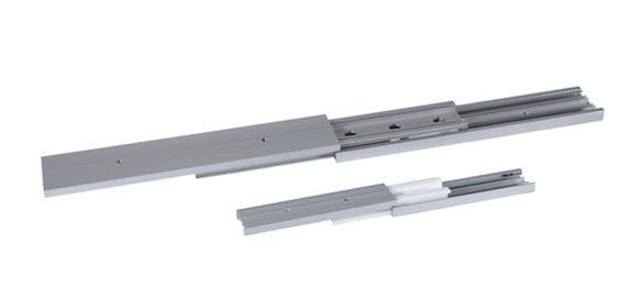 drylin NT telescopische rail met of zonder borgmechanisme