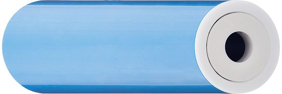 Metallfreie xiros® Tragrolle aus Kunststoff (PVC)