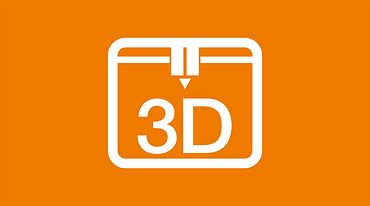 Icon 3D-Drucker