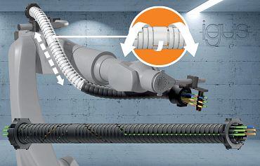 Neue Energieführung für Roboter