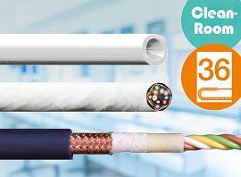 無塵室適用的 chainflex® 耐彎曲電線電纜