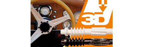 3D printed components for classic cars