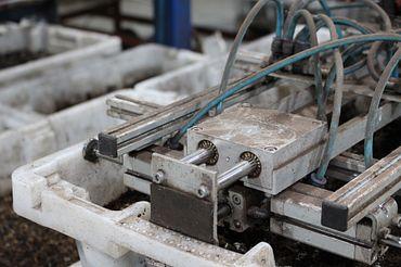 drylin Lineartechnik ist auch schmutzresistent