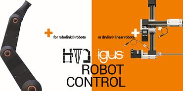 Automation with igus Robot Control