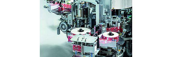 igus labelling machine